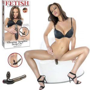 Fetish Fantasy Vibrating Strapless Strap-On
