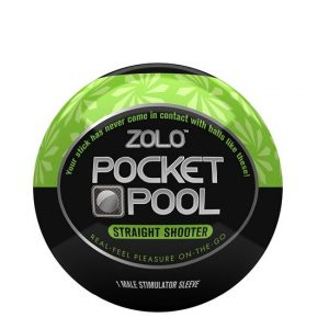 ZOLO Pocket Pool Straight Shooter Masturbator