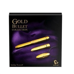 Rocks Off Gold Bullet Collection Box