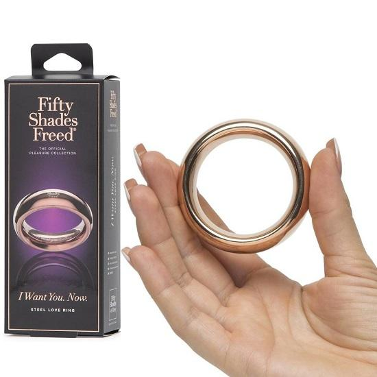 I Want You Now Steel Love Ring
