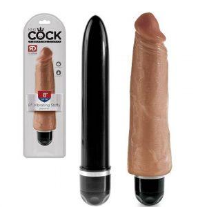 King Cock 8 Inch Vibrating Stiffy