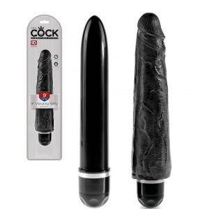 King Cock 9 Inch Vibrating Stiffy