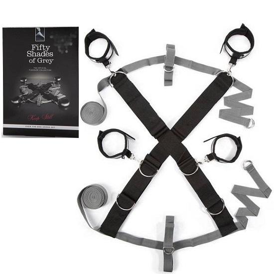 Fifty Shades of Grey Keep Still Over the Bed Cross Set